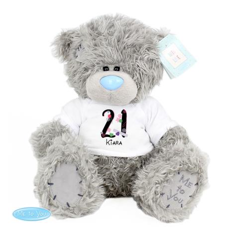 "Personalised 10"" Birthday Age Me to You Bear  £29.99"