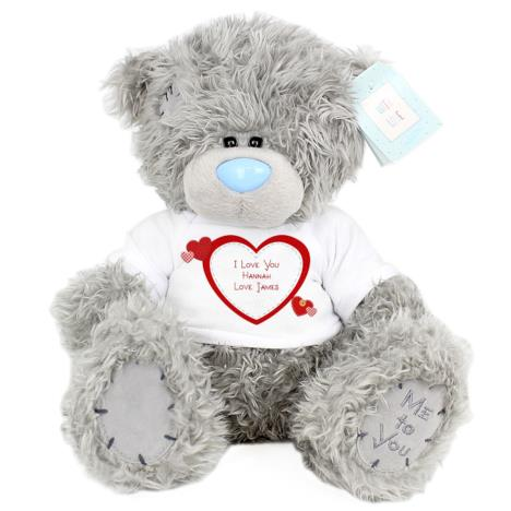 "Personalised 10"" Hearts T-Shirt Me to You Bear  £29.99"