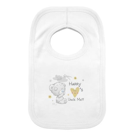 Personalised Tiny Tatty Teddy I Heart Baby Bib  £7.99