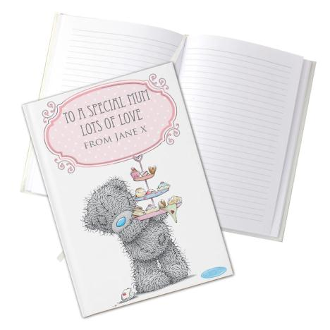 Personalised Me To You Bear Cupcake Hard Back A5 Notebook  £13.99