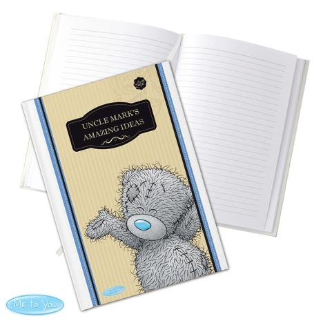 Personalised Me to You Bear For Him A5 Hardback Notebook  £13.99