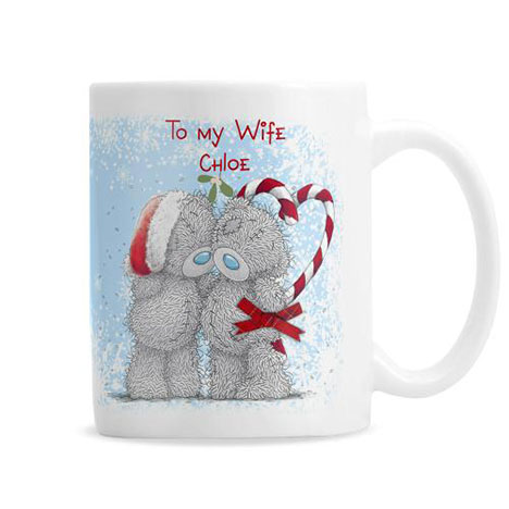Personalised Me to You Bear Christmas Couple Mug  £10.99