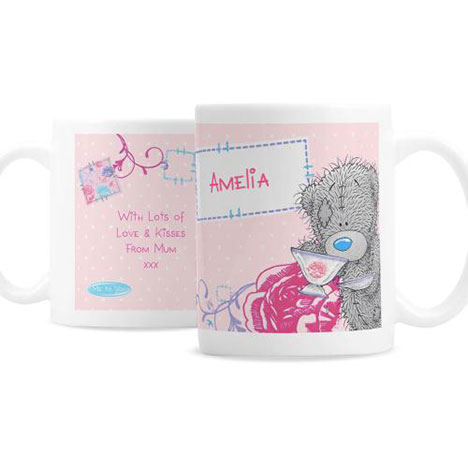 Personalised Me to You Bear Pink Mug  £10.99