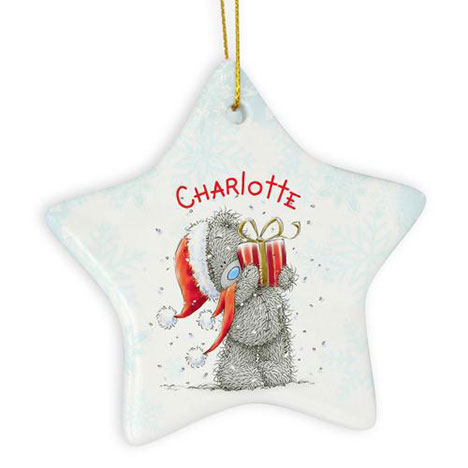 Personalised Me to You Bear Christmas Star Decoration  £9.99