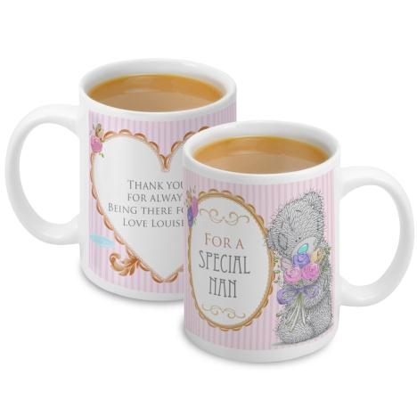 Personalised Me To You Bear Flowers Mug   £10.99