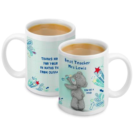 Personalised Me to You Bear Teacher Mug   £10.99