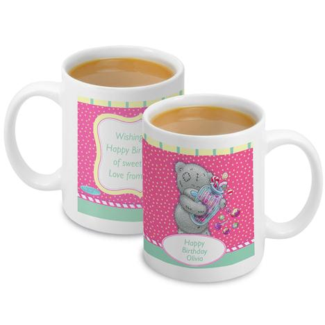 Personalised Me to You Bear Candy Girl Mug   £10.99