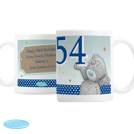 Personalised Me to You Bear Blue Birthday Mug  £10.99