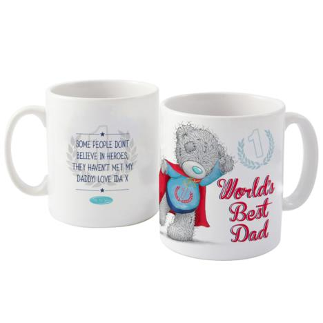 Personalised Me to You Bear Super Dad Mug  £10.99