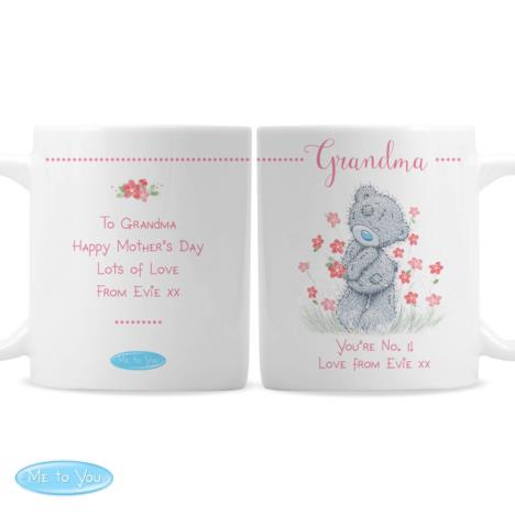 Personalised Me to You Bear Floral Mug  £10.99