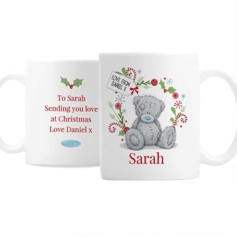 Personalised Me to You Bear Christmas Mug  £10.99