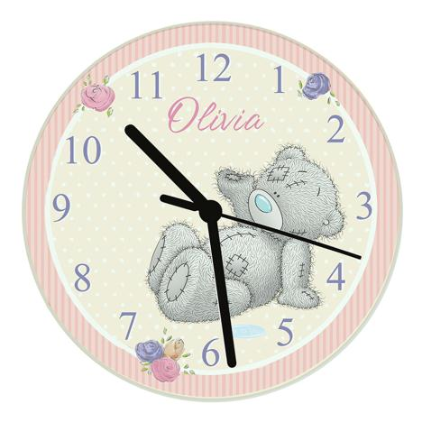 Personalised Me to You Bear Glass Wall Clock  £21.99
