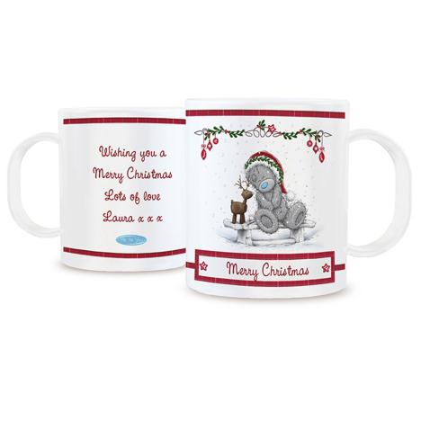 Personalised Me to You Christmas Reindeer Plastic Mug  £9.99