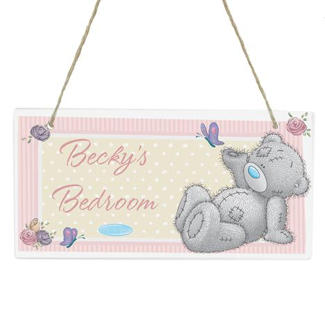 Personalised Me to You Bear Wooden Plaque  £14.99