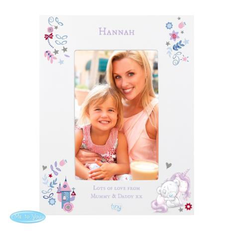 Personalised Tiny Tatty Teddy Unicorn Frame  £19.99