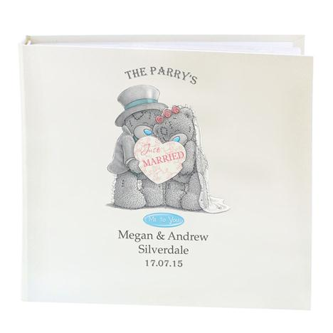 Personalised Me to You Bear Wedding Sleeved Photo Album   £29.99