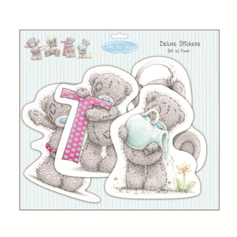 Me to You Bear Tatty Teddy Deluxe Stickers Set of 4  £6.40