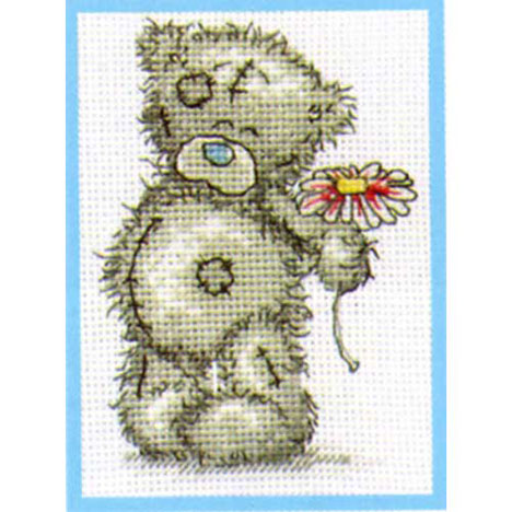 A Flower for You Me to You Bear Small Cross Stitch Kit   £9.99