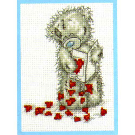 Little Hearts Me to You Bear Small Cross Stitch Kit   £9.99