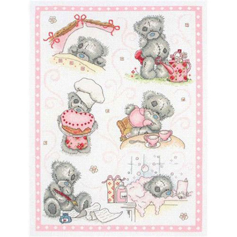 A Day In The Life Me To You Bear Cross Stitch Kit  £39.99