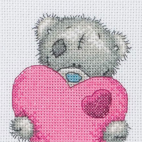 Big Heart Me to You Bear Cross Stitch Kit   £9.99