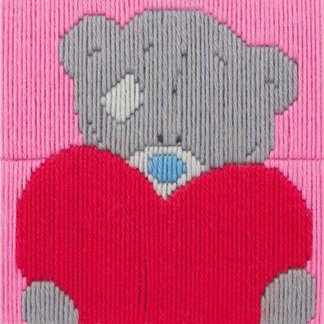 My Heart Me To You Bear Cross Stitch Kit  £18.49