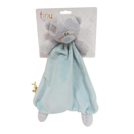Tiny Tatty Teddy Blue Deluxe Baby Comforter  £11.99