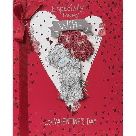 Wife Luxury Me to You Bear Valentines Day Card  £6.49