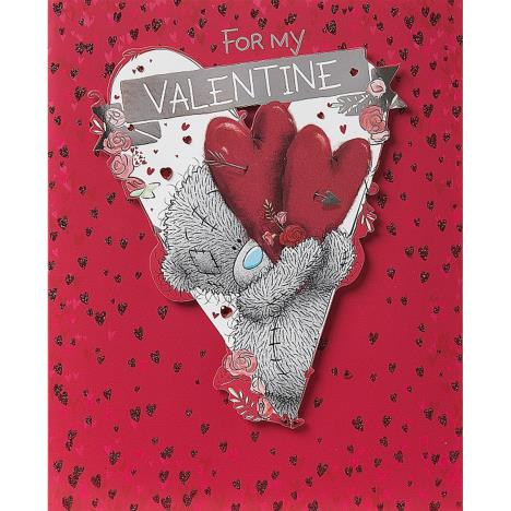 For My Valentine Luxury Me to You Bear Valentines Day Card  £4.99