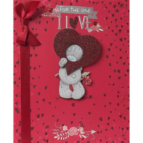 One I Love Luxury Me to You Bear Valentines Day Card  £4.99