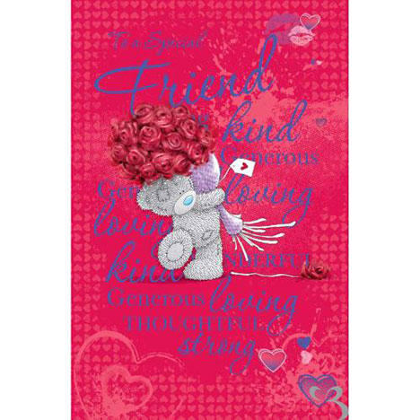 Friend Me to You Bear Valentines Day Card  £1.89