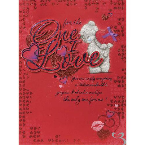 One I Love Me to You Bear Large Valentines Day Card  £3.99