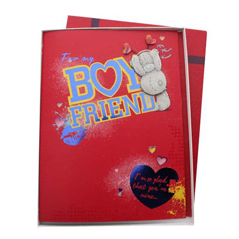Boyfriend Me to You Bear Valentines Day Boxed Card  £9.99