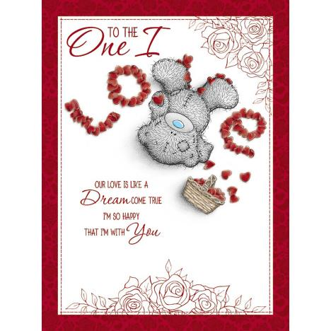 One I love Large Me to You Bear Valentines Day Card  £3.99
