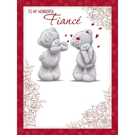 Fiance Large Me to You Bear Valentines Day Card  £3.99