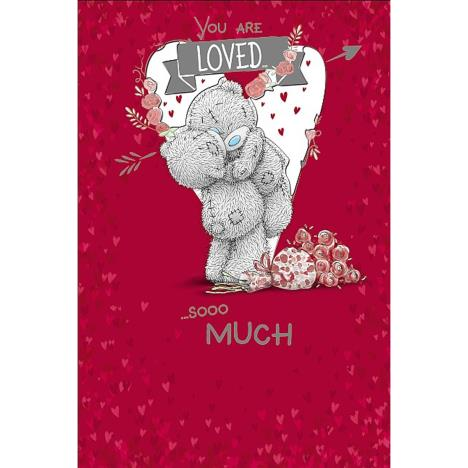 Loved Sooo Much Me to You Bear Valentines Day Card  £2.49