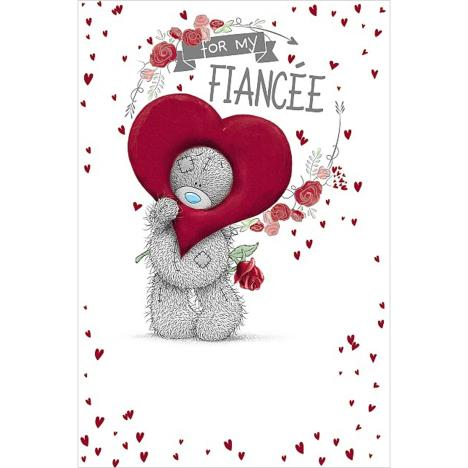 Fiancee Me to You Bear Valentines Day Card  £3.59