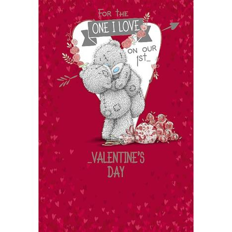 1st Valentines Day One I Love Me to You Bear Card  £3.59