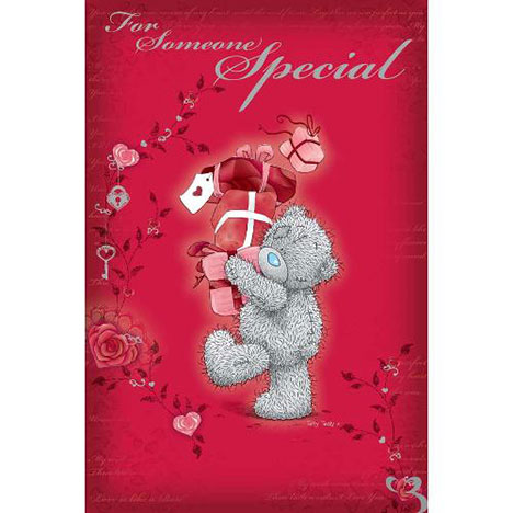 Someone Special Me to You Bear Valentines Day Card  £2.40