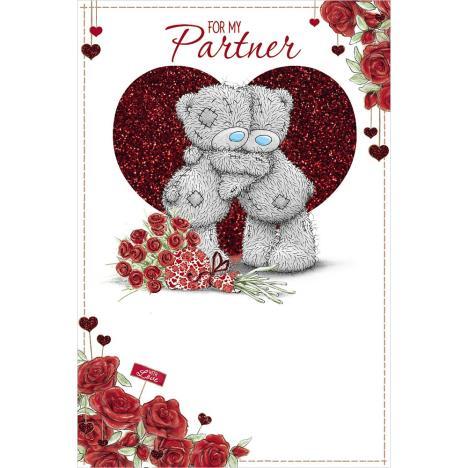 Partner Me to You Bear Valentines Day Card  £2.49
