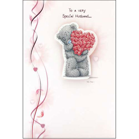 Husband Me to You Bear Valentines Card   £3.75