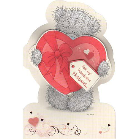 Wonderful Husband Me to You Bear Valentines Day Card  £3.89
