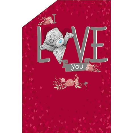 I Love You Me to You Bear Pop Up Valentines Day Card  £3.59