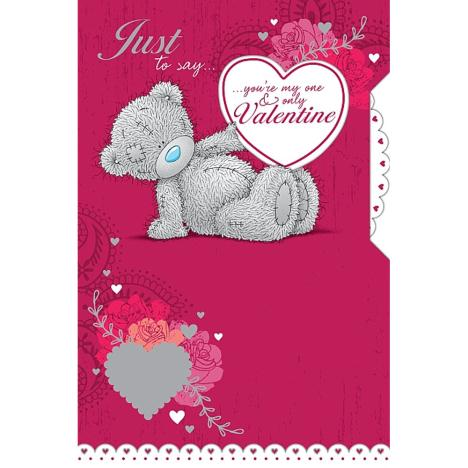 One & Only Valentine Me to You Bear Valentines Day Card  £3.79