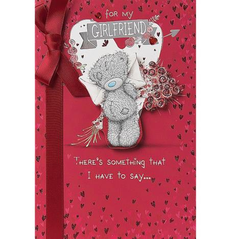 Girlfriend Me to You Bear Valentines Day Card  £3.99