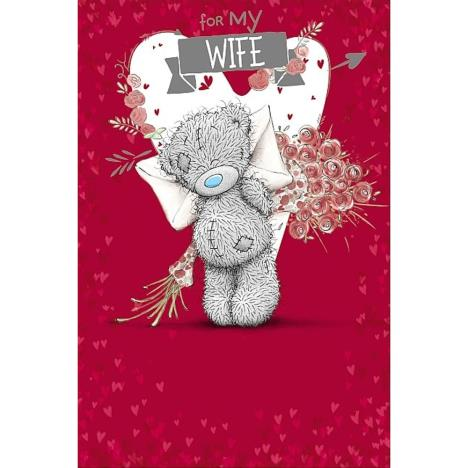 3D Holographic Wife Me to You Bear Valentines Day Card  £3.79