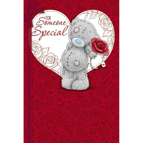 Someone Special Me to You Bear Handmade Valentines Day Card  £3.99