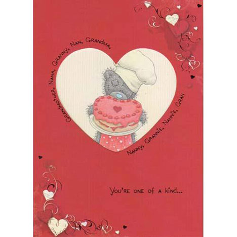Grandparent Me to You Bear Valentines Day Card  £1.80