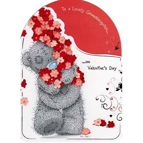 Granddaughter Valentines Me to You Bear Card  £1.80