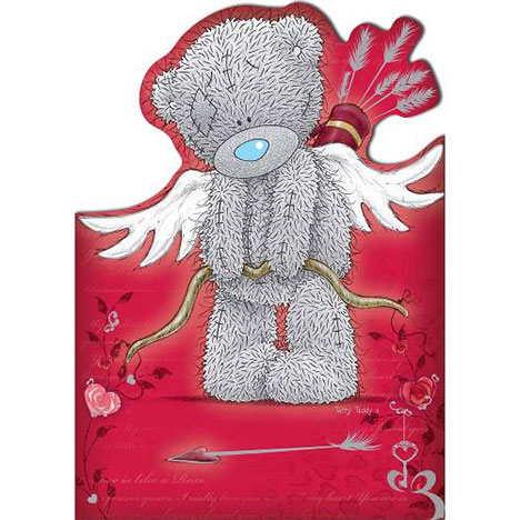 Tatty Teddy as Cupid Me to You Bear Valentines Day Card  £1.80